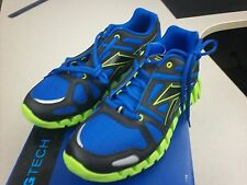 Reebok Zigtech Zigdynamic Color Pack Sneakers Blue Black Green Silver Size 6