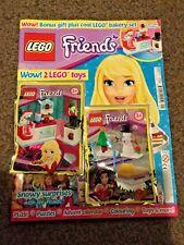 Lego Friends Magazine issue 41 Lego bakery set & bonus toy Snowman