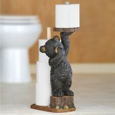 Northwoods Bear Toilet Paper Holder