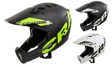 Cratoni Shakedown Downhill Fullface BMX Helm Fahrradhelm Kinnbügel abnehmbar