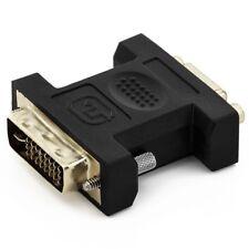 deleyCON VGA zu DVI-I Adapter - VGA Buchse zu DVI-I Stecker - für Monitor, PC