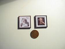 2 DOLLS HOUSE miniatura MARILYN MONROE stampa P67