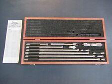 New Listingstarrett 823f Inside Tubular Micrometer Set 15 32