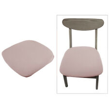 Spandex Stretch Elastic Dining Room Chair Seat Covers with Locking Buckles