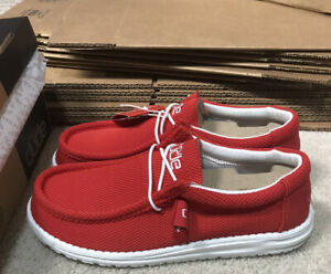 Hey Dude Shoes Wally Sox Flame Size 10