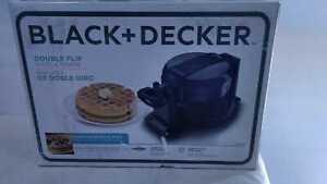2-Waffle Black Flip Belgian Waffle Maker by BLACK+DECKER