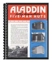 Aladdin Homes 1942-1947 Troop Housing Model Catalog BARRACKS Military Buildings