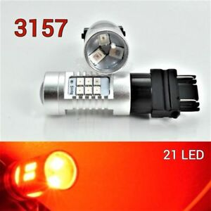 Parking Light 3157 3057 4157 Peformance Auto 21 SMD LED Red B1 12 For Plymouth