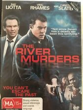 The River Murders (DVD, 2011) Ray Loots, Christian Slater - Free Post!