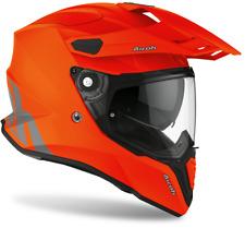 Full Face Helmet Offroad Enduro Motard Airoh Commander Orange Helmet