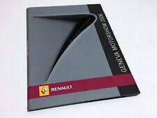 Renault Megane Espace Altica Concept Clio Sport Press Kit Brochure - 01/2006