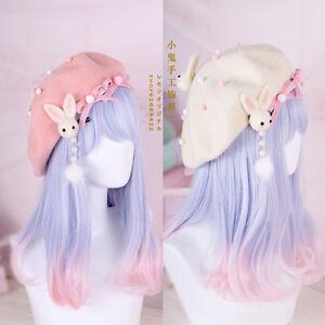 Hair Pin Lolita Hair Accessories Moe Sweet Japan Kawaii Bow Cute Beret Kawaii #1