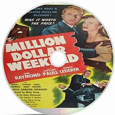 Million Dollar Weekend Black And White Public Domain film Converted To DVD
