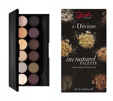 "SLEEK I-Divine Eyeshadow Palette ""Au Naturel"" NEU&OVP"