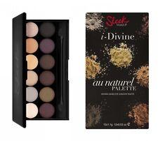 "SLEEK I-Divine Eyeshadow Palette ""Au Naturel"" NEU&OVP"