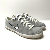 Nike Women's UK Size 5 Capri Canvas Grey Vintage Low Classic Trainers Shoes