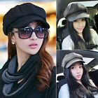 Ladies Women Military Golf Driving Cool Flat Octagonal Cap Hat Newsboy MAD