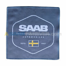 Saab Microfiber Towel Small With Swedish Flag Logo Rare Dealer Gift New
