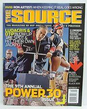 Power 30 Issue The Source Magazine Ludacris DTP Eminem Jay-Z Afrika Bambaataa!