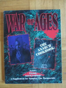 Vampire The Masquerade – War of Ages – Supplement english - White Wolf WOD World