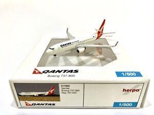 Qantas 737-800 1:500 Herpa