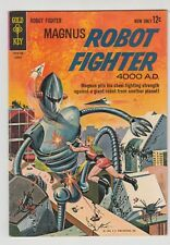 MAGNUS, ROBOT FIGHTER #3, 1963 GOLD KEY  FN/VF CONDITION