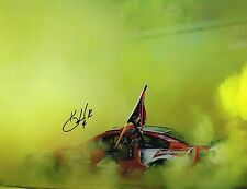 Kevin Harvick signed Nascar Burnout 2014 Sprint Cup Champ 11X14 photo with Coa