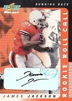 JAMES JACKSON RC 2001 SCORE SELECT ROOKIE ROLL CALL #RP-42 AUTO #41/50 FB3941