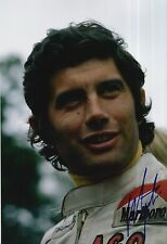 Giacomo Agostini Hand Signed Yamaha 12x8 Photo MOTOGP 4.