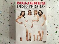 MUJERES DESESPERADAS DESPERATE HOUSEWIVES TEMPORADA 1 COMPLETA - 6 DVD - AM