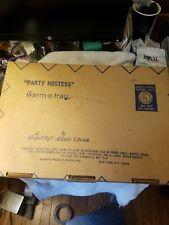 Party Hostess Warm-o-Tray #60 Blue Cornflower Atlantic Precision Works  NIB