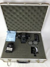 Mamiya ZE SLR Camera w/50mm 1:2 Lens & 135mm 1:3.5 Lens Flash & Innerspace Case