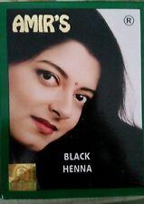AMIR'S BLACK HAIR  COLOUR WITH HENNA x 10 ,6 POUCHES EACH,10GRAMS EACH Bulk lot