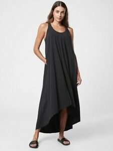 ATHLETA Presidio Dress  XS X-Small    Black Travel Commute NEW