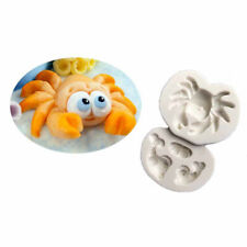 3D Crab Silicone Fondant Baking Cake Cartoon Mould Sugarcraft Decorating moldUO
