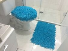 RUG MEDUSA BATHROOM SET SKY BLUE