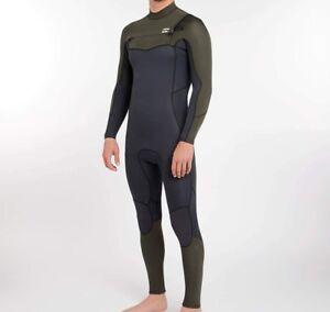 BILLABONG Men's 3/2 FURNACE ABSOLUTE CZ Wetsuit - DKO - Large Short - NWT