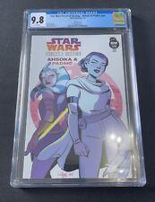 Star Wars Forces Of Destiny Ahsoka & Padme 1/18 CGC 9.8 RARE VARIANT COVER