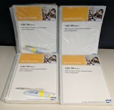 SAP GRC300 v1 Textbooks 1 & 2 - SAP Education SAP GRC Brand New