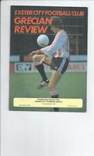 Teams O-R Plymouth Argyle Division 3 Football Programmes