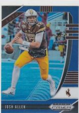 JOSH ALLEN 2020 PRIZM DRAFT PICKS BLUE RETAIL PARALLEL #56 WYOMING
