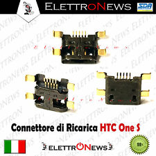 Connettore di ricarica Micro Usb Plug-in Htc one s Z520E Z560E S720E G23