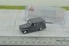 Eko Jeep Wagoneer Grey 1:86 HO Scale