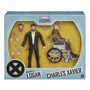 Marvel Legends Series X-Men Marvels Logan and Charles Xavier Action Figures  MIB