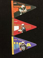 2002 Fleer Football School Colors Memorabilia set of 12