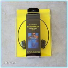 Wasserdichter Schwimm MP3 Spieler Wasserfest wasserdicht kabelloser IPX8 USB 2.0