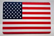 "AMERICAN FLAG, Billet Aluminum Trailer Hitch plug Cover, UV, 4"" X 6"""