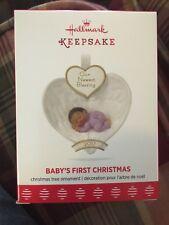 Hallmark Keepsake 2017 African-American Baby's First Christmas Ornament
