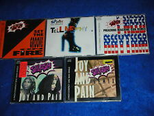 lot 5 CD maxi SPLASH set the groove on fire ASHER D.TELL ME WHY joy and pain GUN