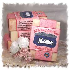 Red Clover Tea_Battle Creek_ SPA Sulphur Mineral Soap Made in Montana_Handmade